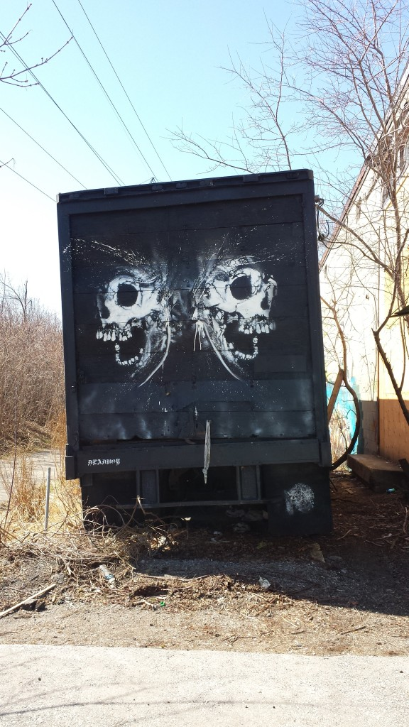 Scary truck